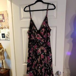 Torrid Floral Dress, Size 1, EUC